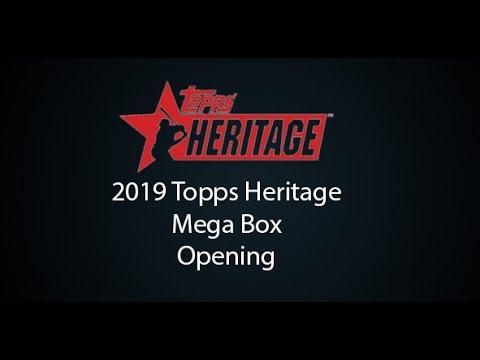 2019 Topps Heritage Mega Box