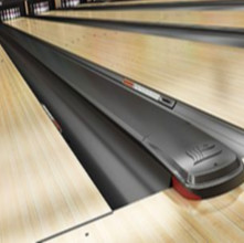 Black capping trim for Brunswick Bowling