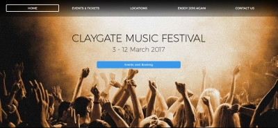 claygate music festival website