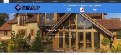 mole valley builders website