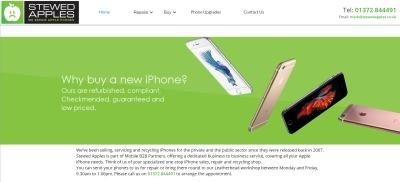 Stewed apples website