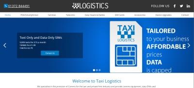 Taxi Logistics website