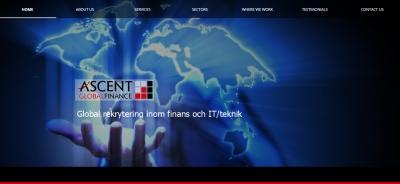 Ascent Finance website