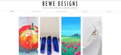 Bewe designs website
