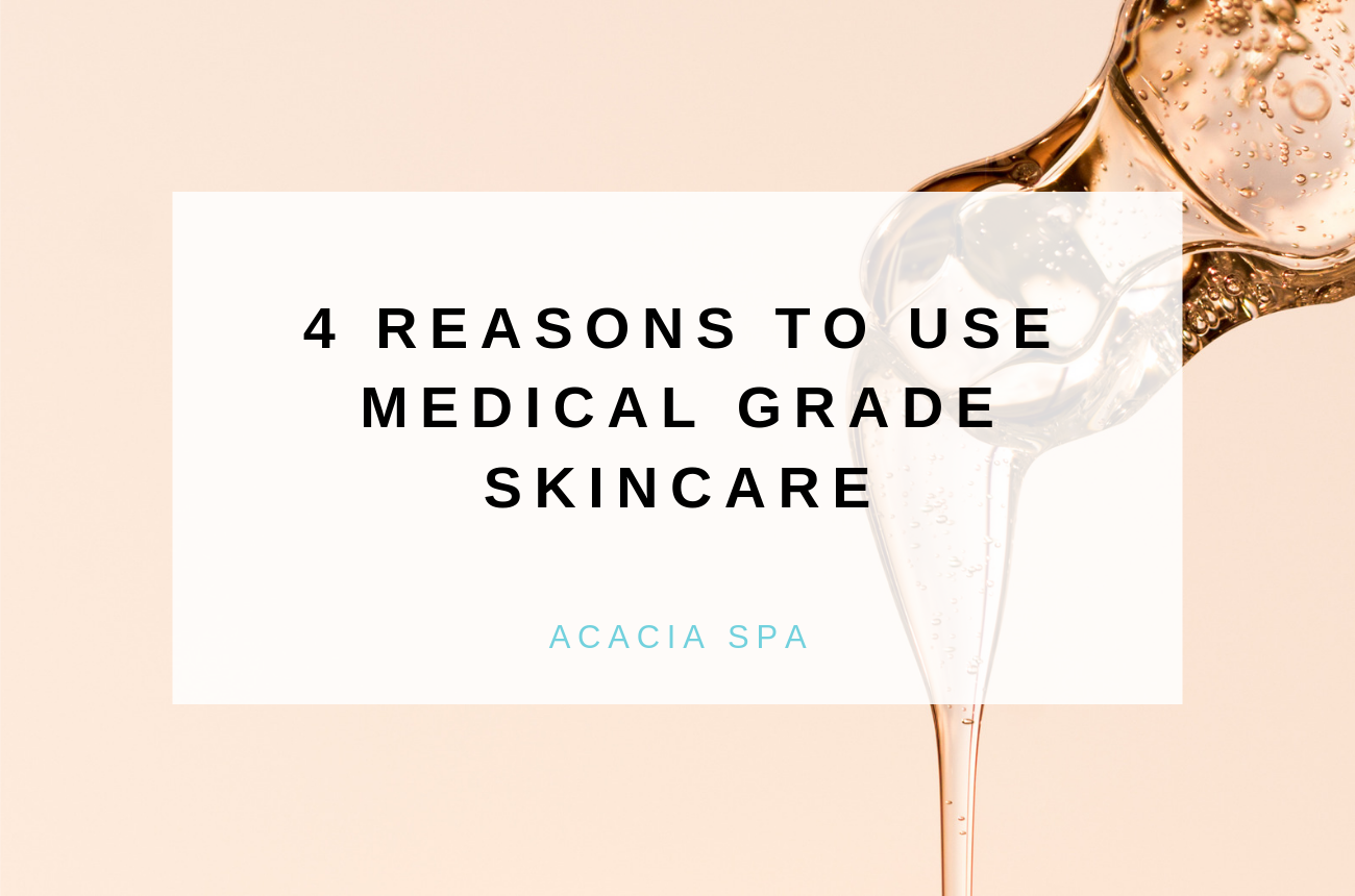 4 Reasons to Use Medical Grade Skincare
