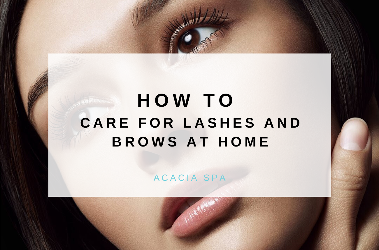 At Home: Lashes and Brows