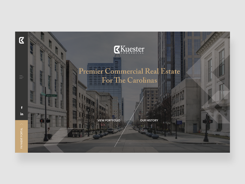 Commercial Real Estate Website