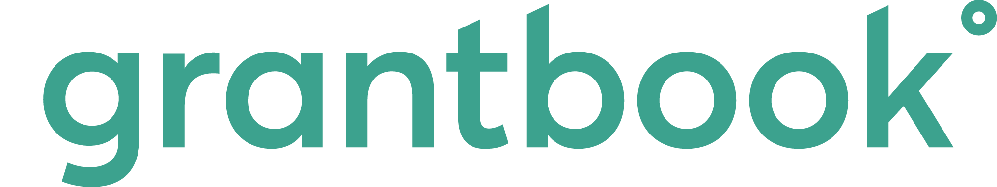 Grantbook Logo in Turquoise