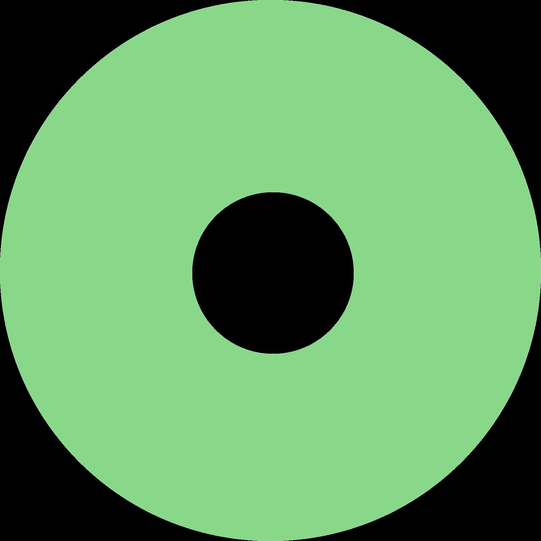 Translucent Green Grantbook Circle