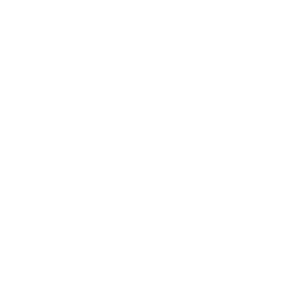 A white circle