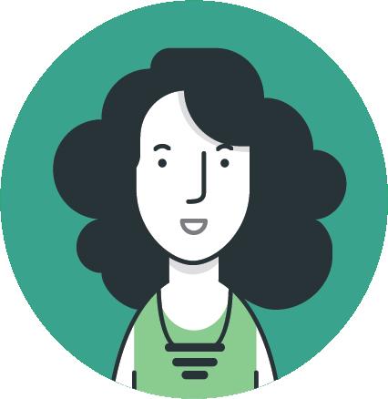 An illustrated persona named Akua