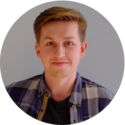 Jamie Fawcett: circular headshot