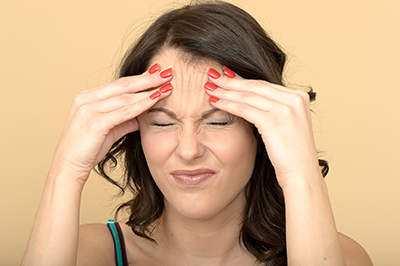 Frequent Headaches are a part of chronic stress sufferers' everyday life