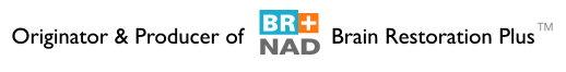 BR+ NAD logo