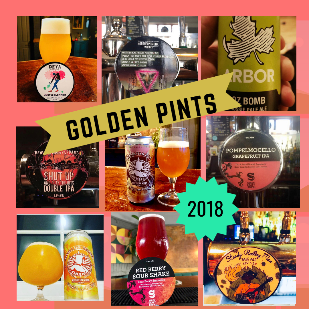 Golden Pints 2018!