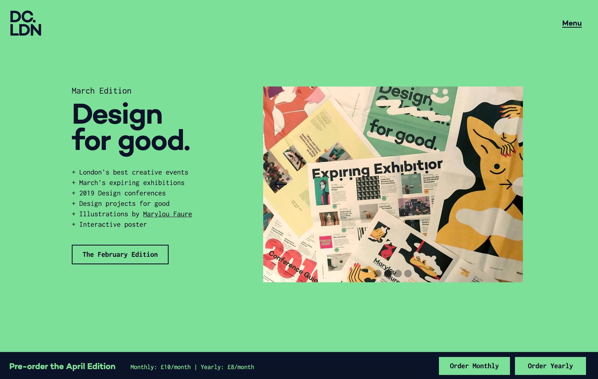 Design Calendar – Print Edition