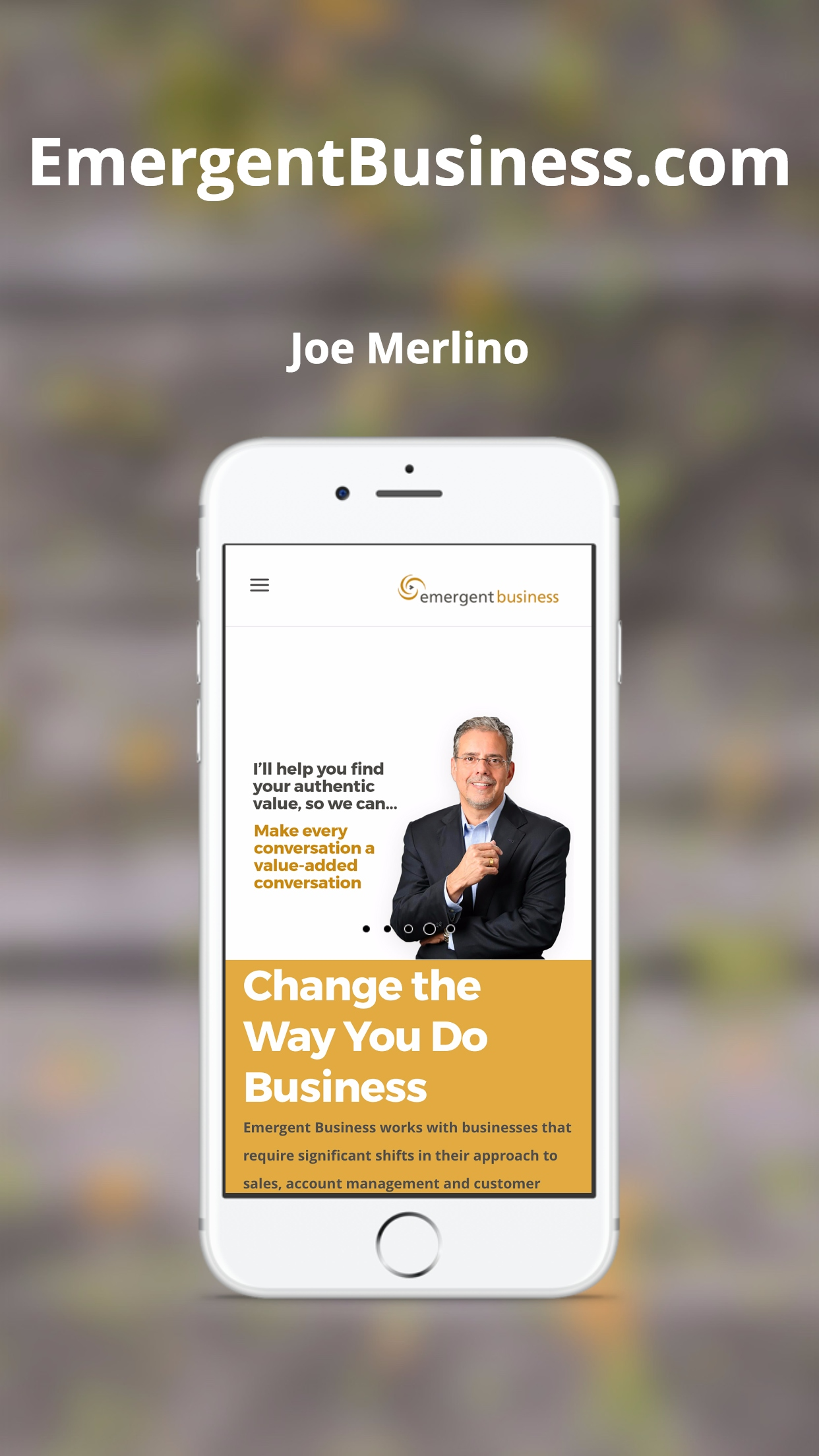 Emergent Business on iPhone
