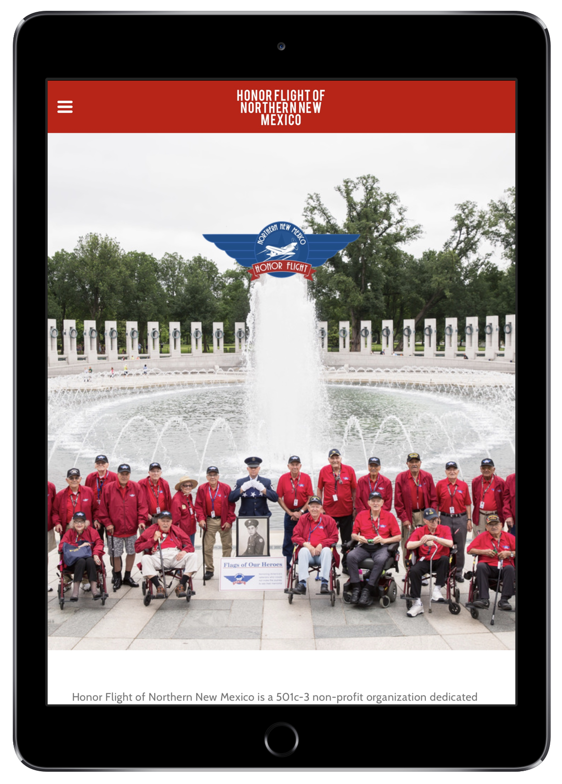 Honor Flight of Northern New Mexico (iPad)
