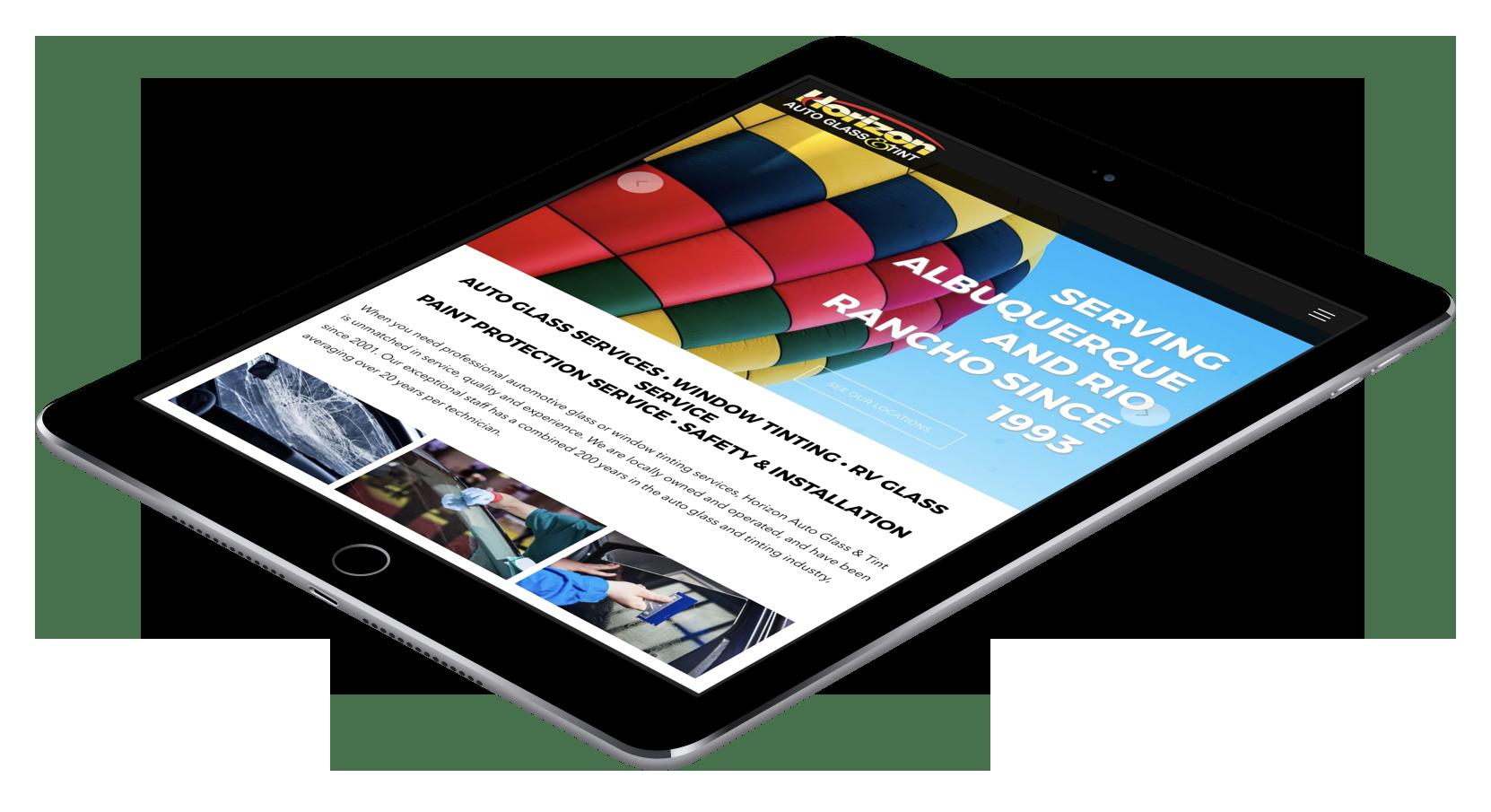 Horizon Auto Glass & Tint (iPad)