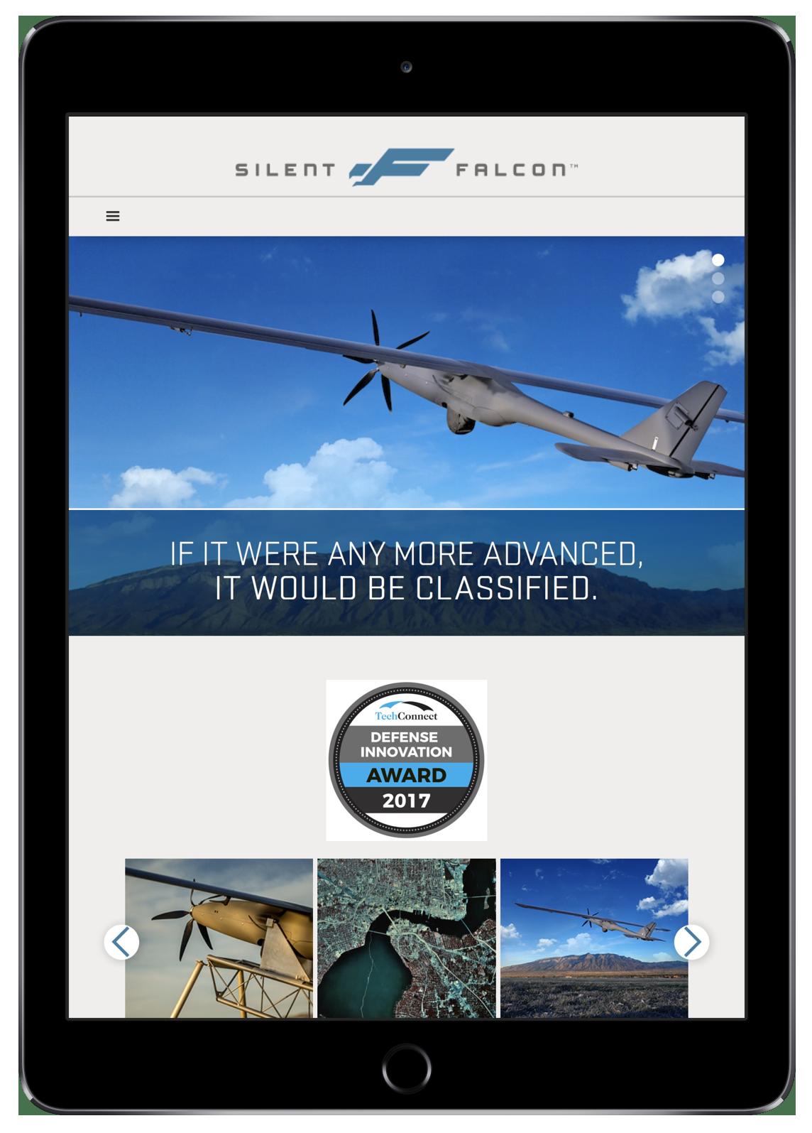 Silent Falcon UAS (iPad)