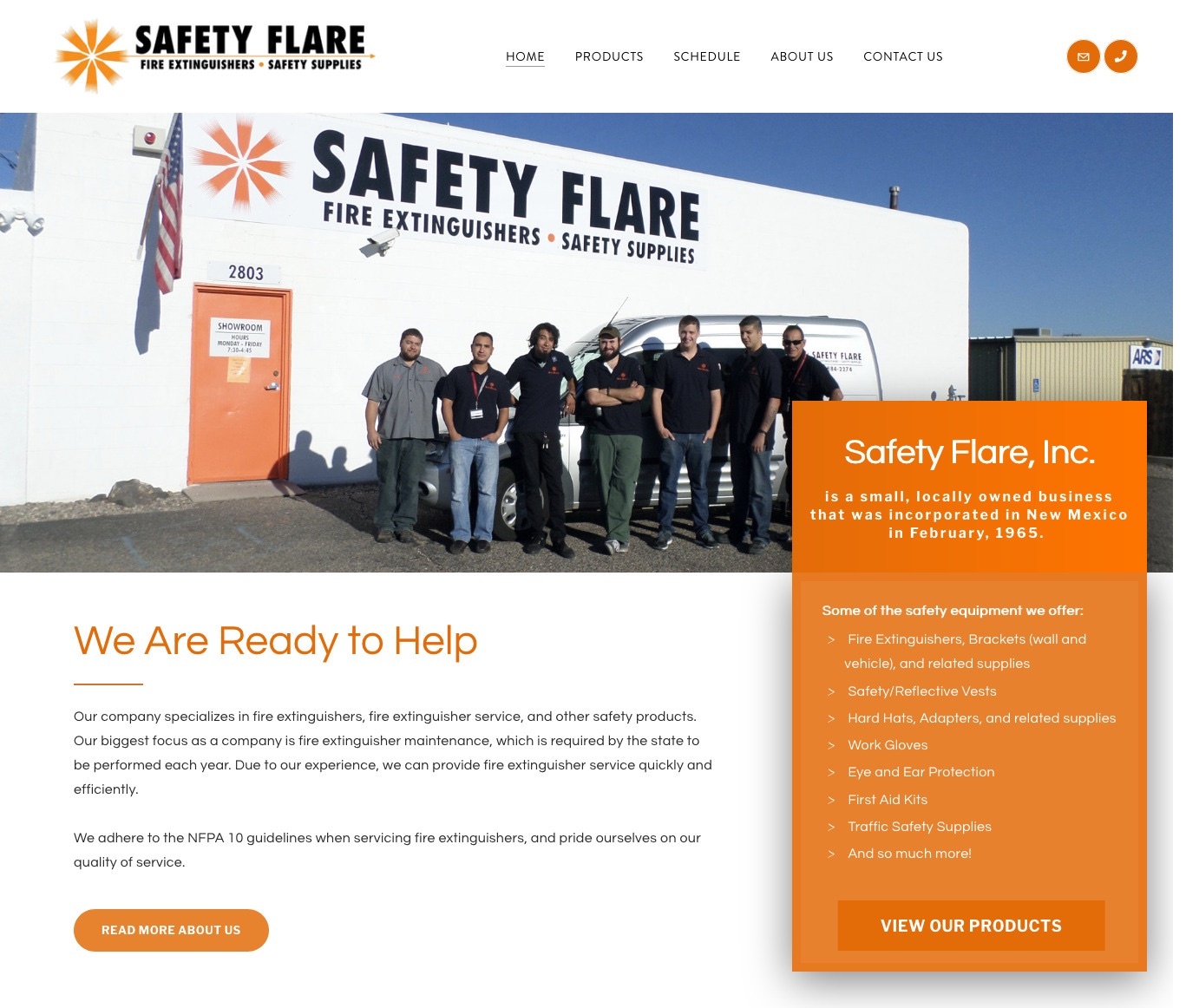 Safety Flare, Inc. Albuquerque, NM