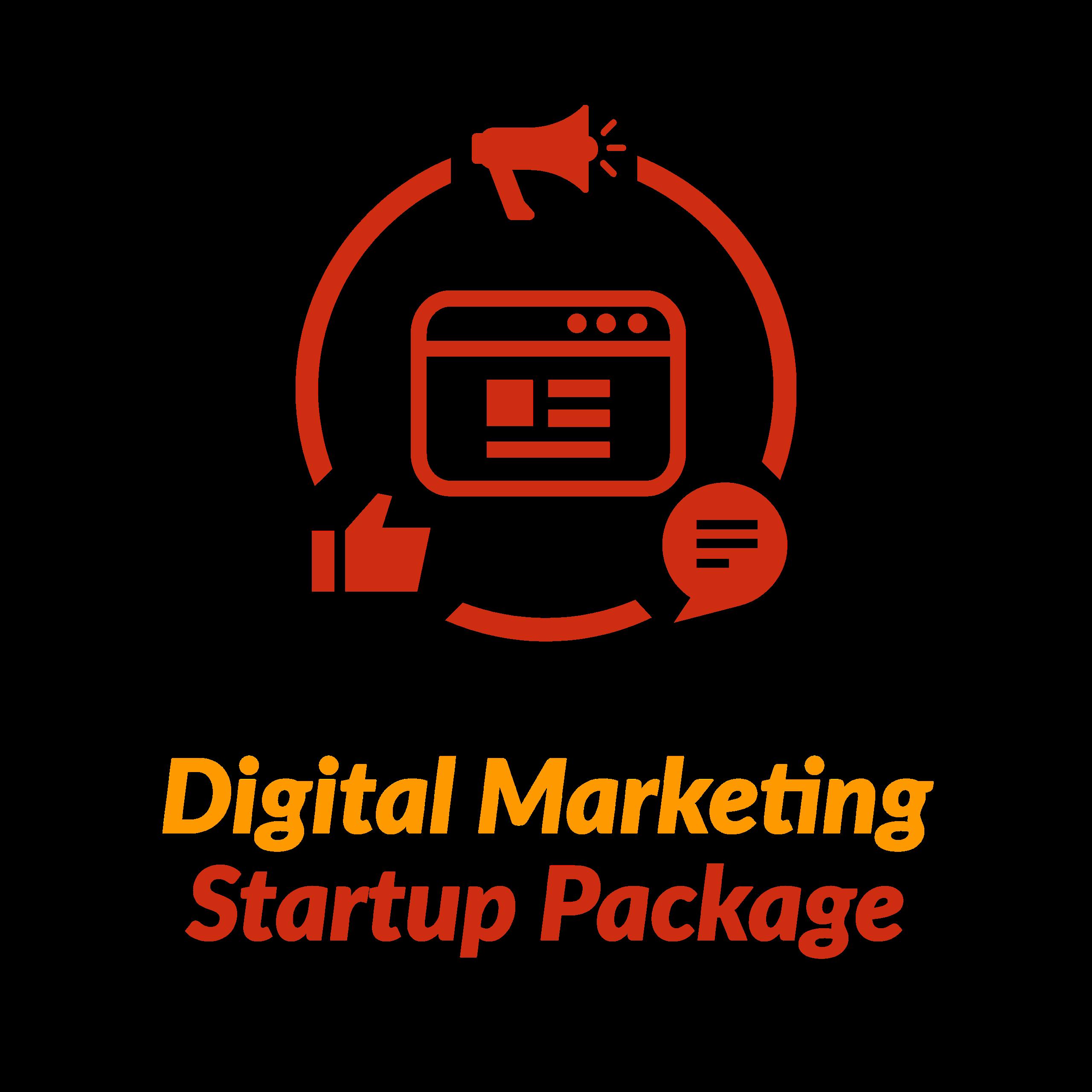 Digital Marketing Startup Package