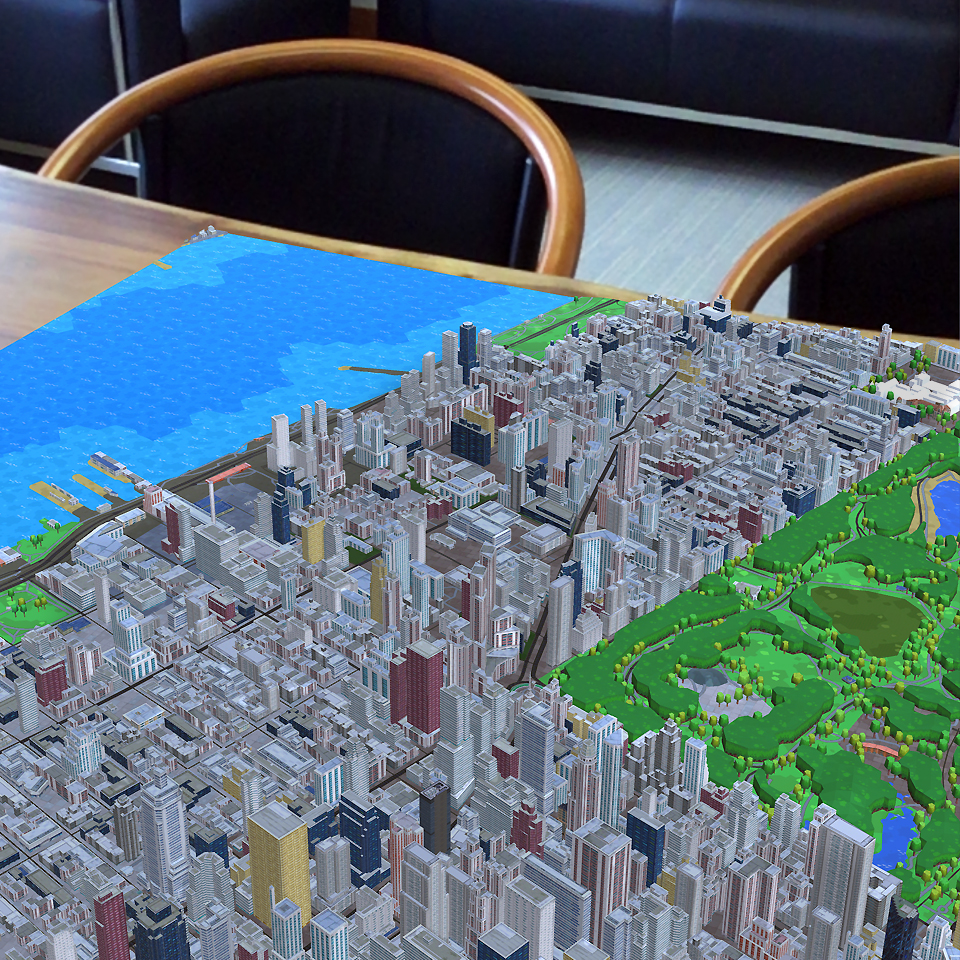 AR Map Viewer
