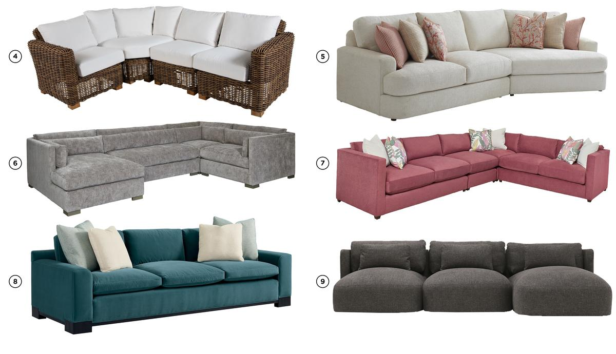Top 15 sofas at High Point Market on Stephanie Kratz Interiors