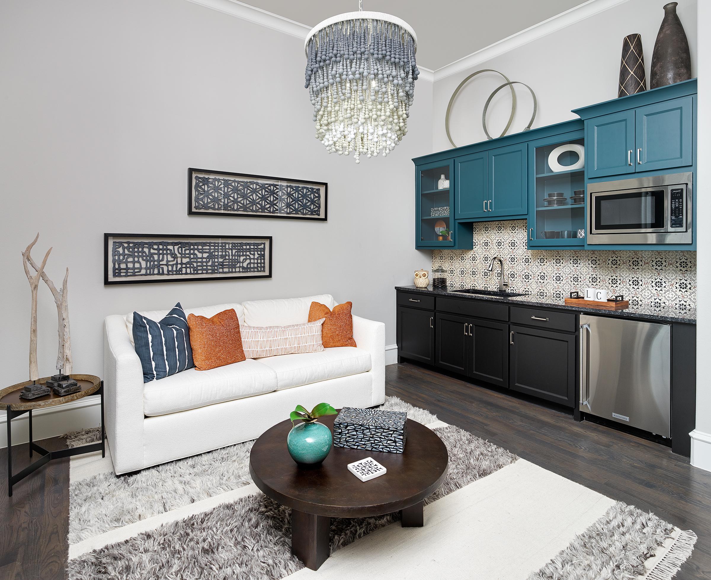Stephanie Kratz Interiors design of Casita Remodel