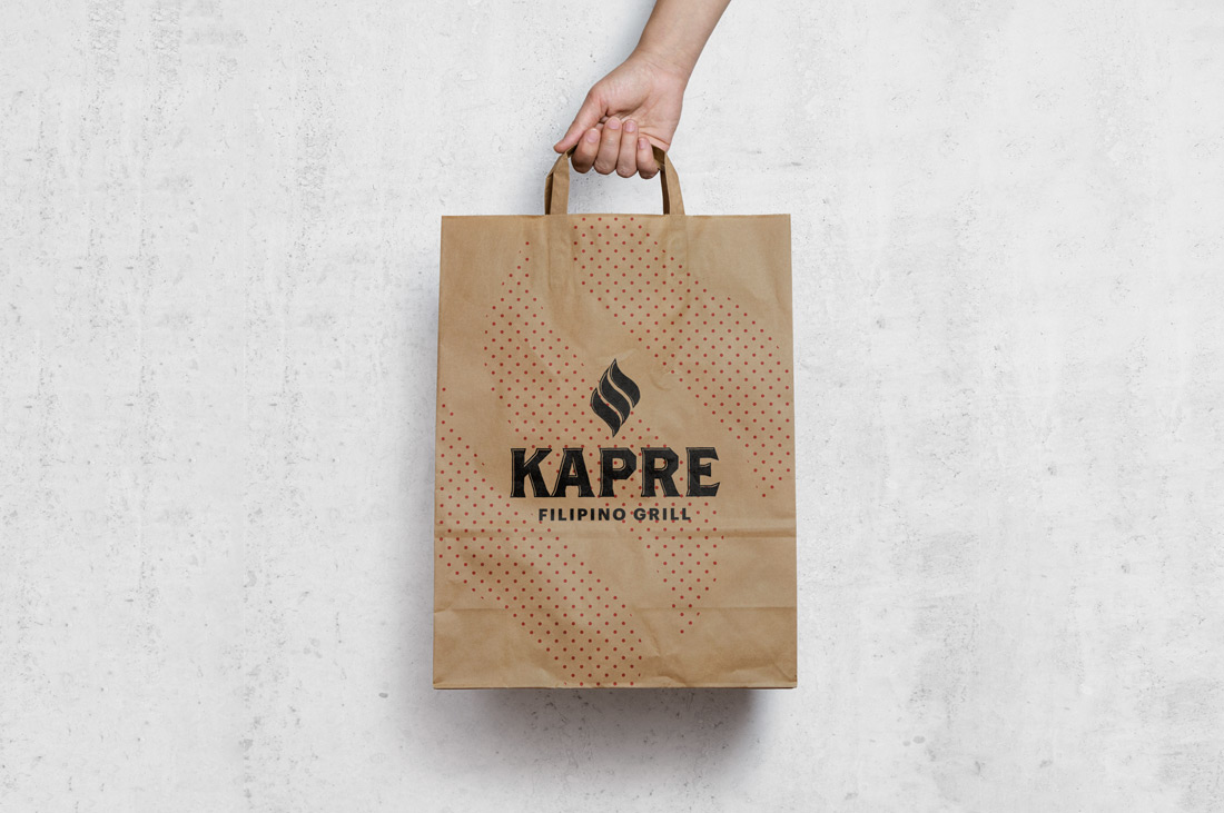Kapre Filipino Grill Takeaway Bag