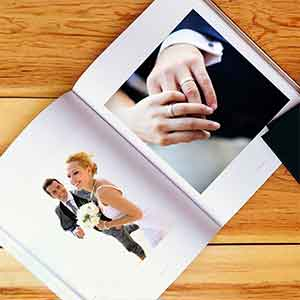 Livre Photo Couverture rigide imprimable