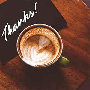 Cartes de remerciement