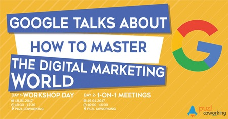 Google will tell you how to master the digital marketing world.