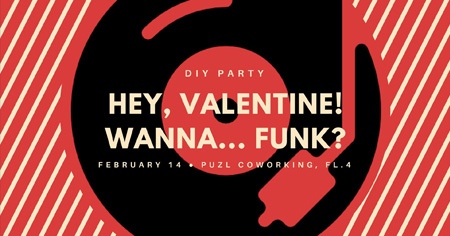 Hey, Valentine! Wanna funk?