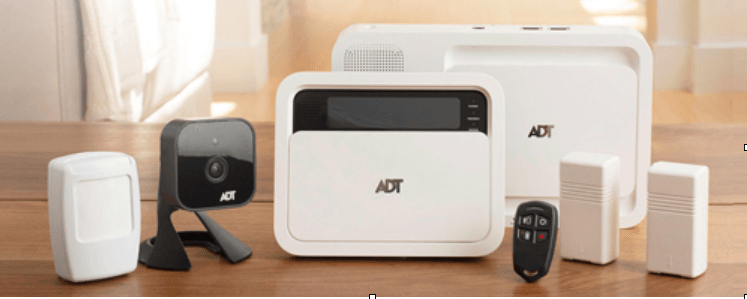 Adt alarm systems review pricing features kisi adt starter kit includes security panel and keypad motion sensor and two entry sensors and indoor camera and key fob you also get a security camera solutioingenieria Gallery