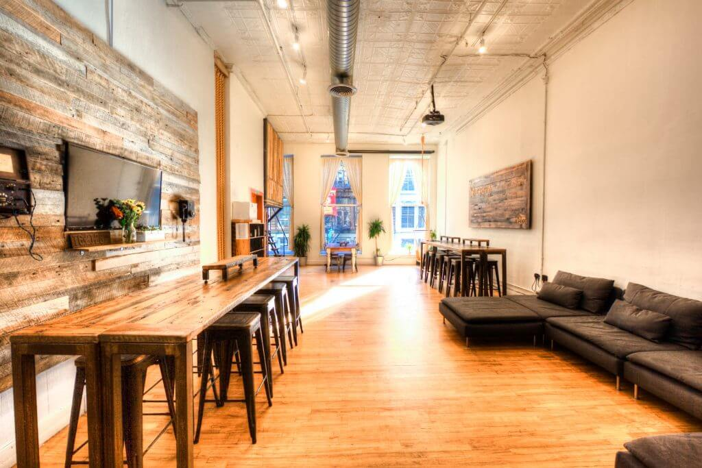 Farm SoHo NYC Coworking Space Design Inspiration
