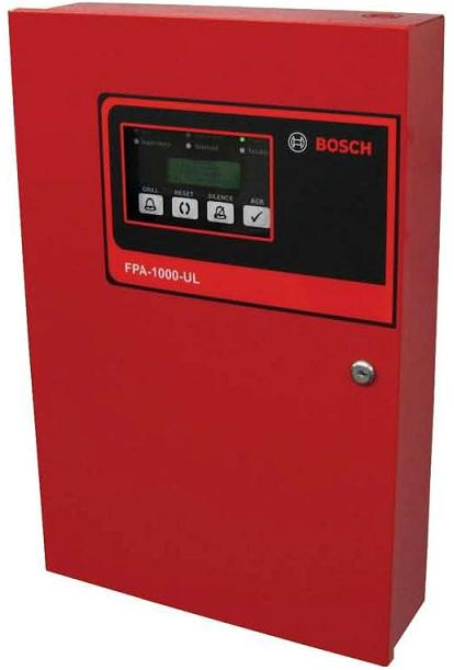 bosch fire alarm panel