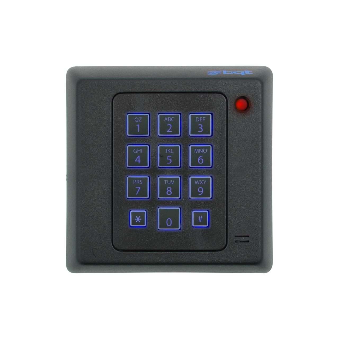 Card reader with PIN codes