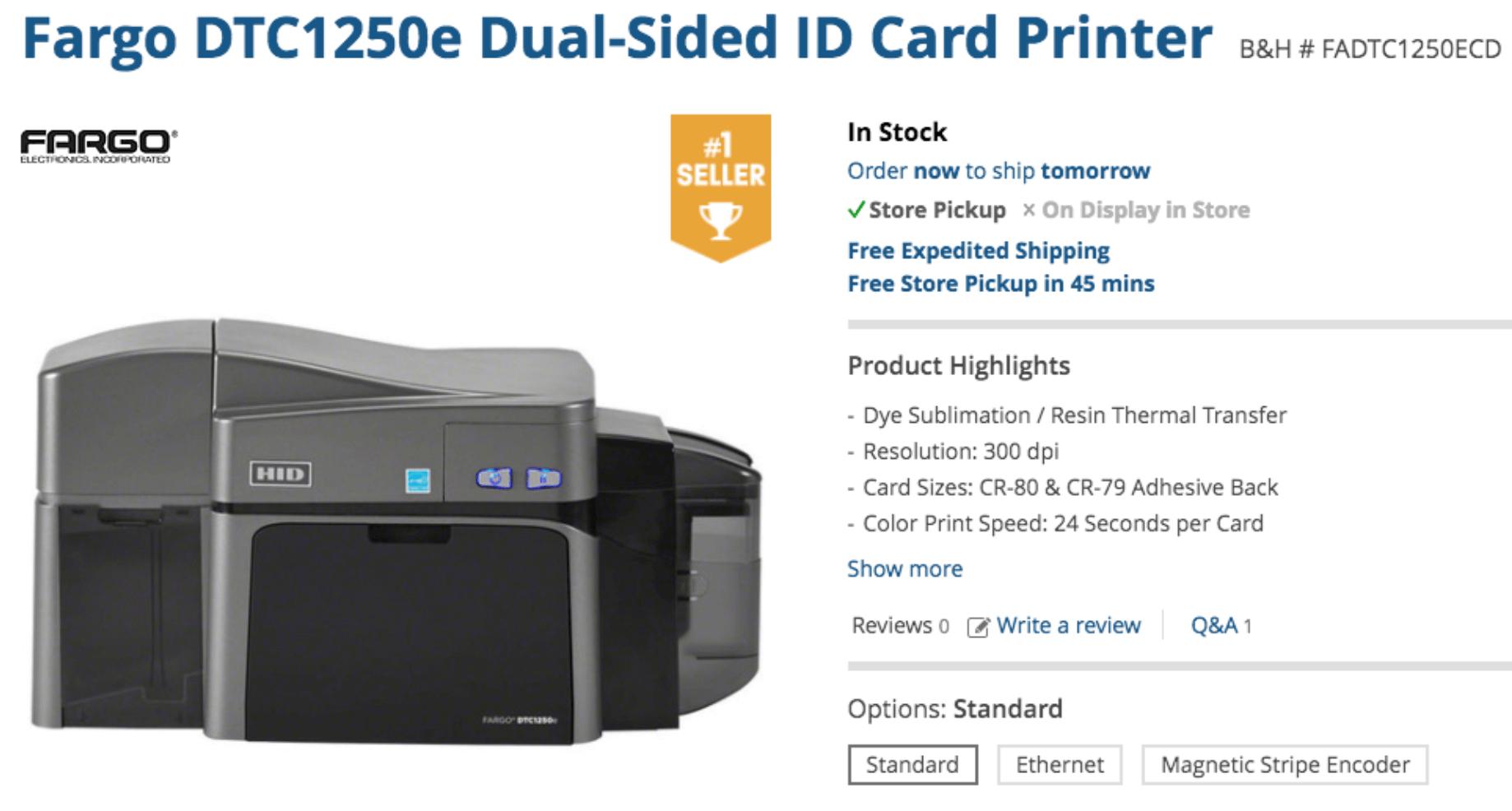 ID Cards Printer