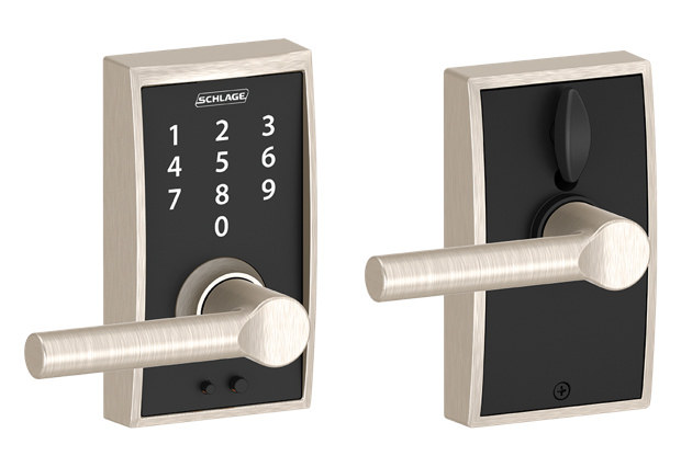 Modern Schlage locks