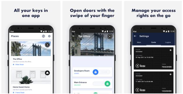 mobile door app