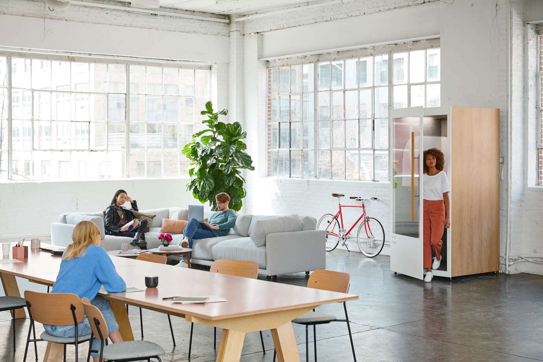 open office space