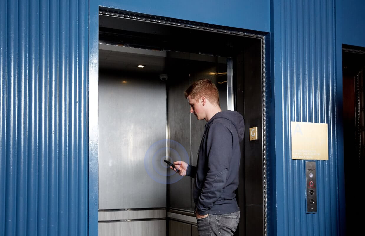 Touchless Elevator Access Control With Kisi