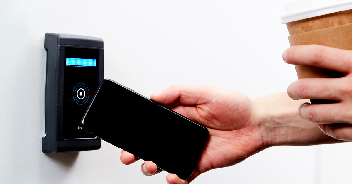 Tap to Unlock Mobile Access Technology from Kisi