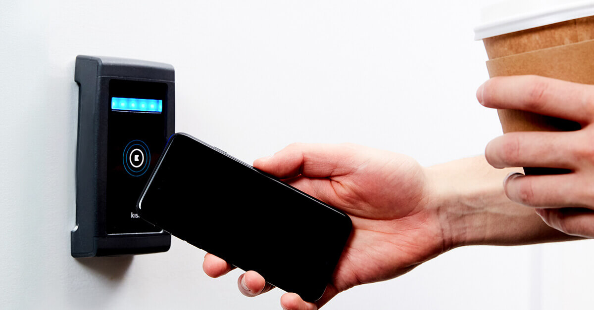 Smartphone access control with tap to unlock technology