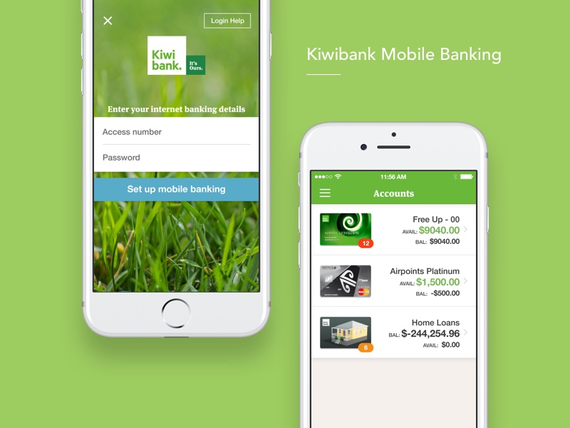 David lau creative kiwibank is one of the largest new zealand owned banks in the country and providing a seamless mobile banking app is core to users everyday banking malvernweather Images
