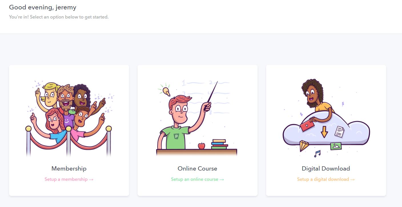 Teachable Alternatives- podia course