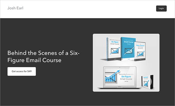 Behind the Scenes of a Six-Figure Email Course