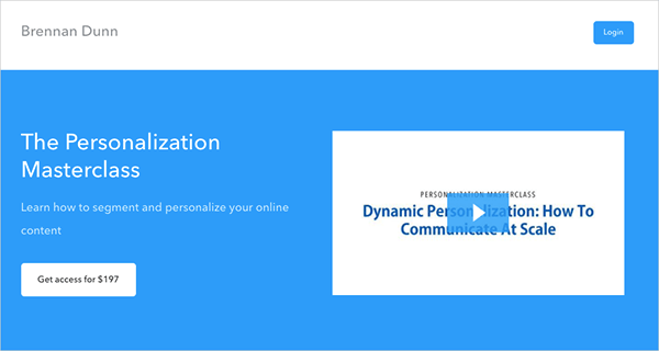 The Personalization Masterclass