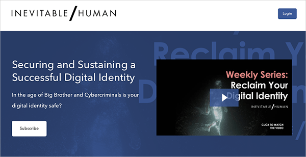 Securing and Sustaining a Successful Digital Identity